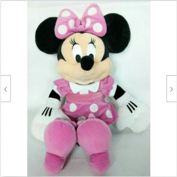 "Disney Collection Minnie Mouse Plush 18"""